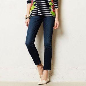 Anthropologie Pilcro Stet Skinny Crop Jeans